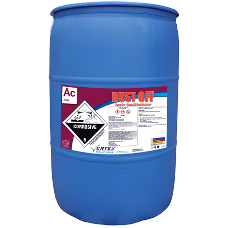 Vertex® Rust Off Spray On - Rinse Off Rust Remover -55 Gal