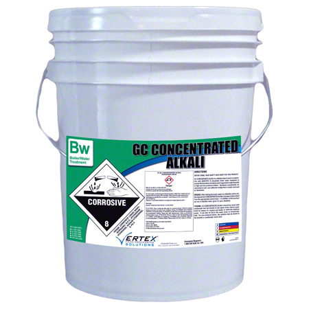 Vertex® GC Concentrated Alkali - 5 Gal. Pail