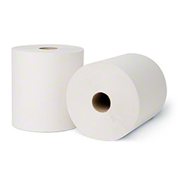 "Merfin® Exclusive White Roll Towel - 7.5"" x 800'"