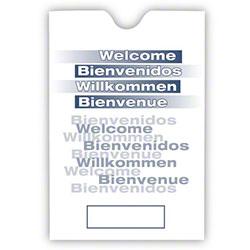 RDI Key Envelope w/Multilingual Welcome