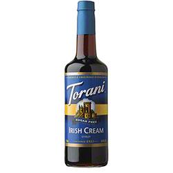 Torani® Sugar Free Irish Cream Syrup - 750 mL