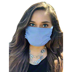 "BioSmart™ Reusable Face Mask - 7"" x 7"", Ceil Blue"