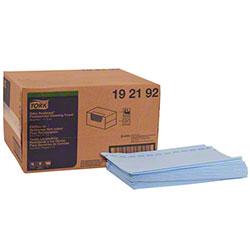 Tork® Antimicrobial Foodservice Cloth-Blue/Blue Stripe