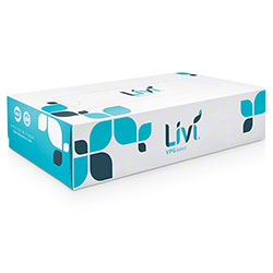 Livi® VPG® Select Flat Box Facial Tissue - 100 Sheets
