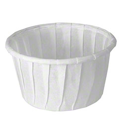 Solo® Treated Paper Soufflé  Portion Container - 1.25 oz.