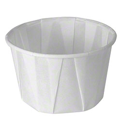 Solo® Treated Paper Soufflé  Portion Container - 2 oz.