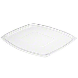 Dart® ClearPac® Flat Lid For 48oz/64oz/Cmpt, Clear