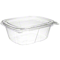 Dart® ClearPac® SafeSeal Container - 12 oz, w/Flat