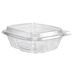 Dart® ClearPac® SafeSeal Container - 8 oz, w/Dome