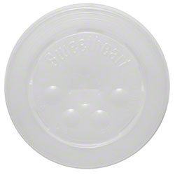 Dart® Clear Lid w/Straw Slot For Plastic Cup