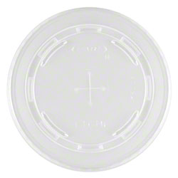 Dart® Conex Translucent Straw Slotted Lid - For 16TN