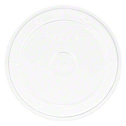 Solo® Polypropylene Plastic Food Container Lid - Clear