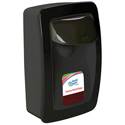 Designer Series Low Output Wall Mount Dispenser - 1250 mL, Black/Black