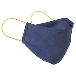 Earlooped Blue Reuseable Cloth Face Mask