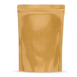 "TL 1/2 oz. Kraft Bag - 5"" x 8.14"" x 2.33"""