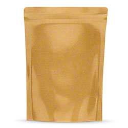 "TL 1/4 oz. Kraft Bag - 4"" x 6.5"" x 1.78"""
