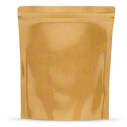 "TL 1/8 oz. Kraft Bag - 4"" x 5"" x 1.5"""