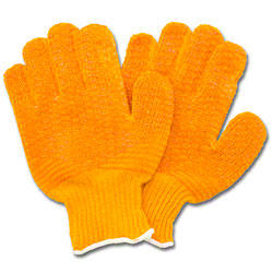 Safety Zone Extra Grip String Knit Glove - Large