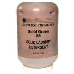 Sunburst Solid Green 65 Solid Laundry Detergent - 6 lbs.