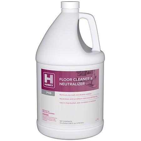 Husky® 710 Floor Cleaner & Neutralizer - Gal.