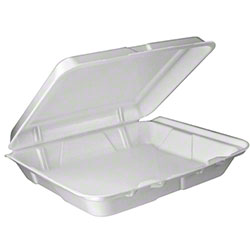 Dart® Foam Hinged Lid Containers