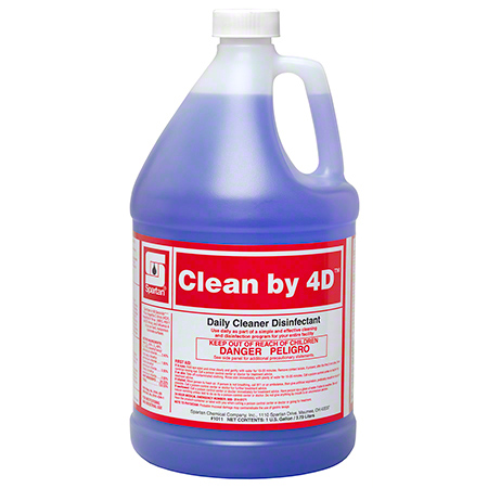 Spartan Clean by 4D™ Daily Cleaner Disinfectant - Gal.