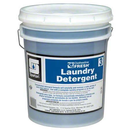 Spartan Clothesline Fresh™ Laundry Detergent #3 - 5 Gal.