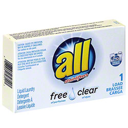 Vend Rite All® Free Clear Liquid Laundry Detergent -1 Load