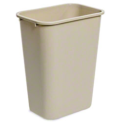 delamo® 41 Qt. Office Wastebasket - Beige