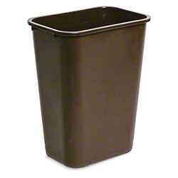 delamo® 41 Qt. Office Wastebasket - Brown