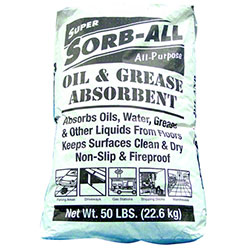 Mission Kleensweep Super Sorb-All™ Absorbent - 50 lb.