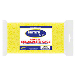 SM Arnold® Brite'N Up™ Pro Cel™ Cellulose Sponge - Yellow