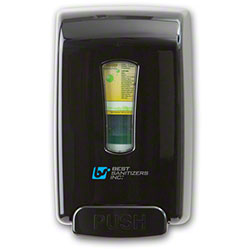 Best Smart-San® Hand Sanitizer Spray Dispenser - Black