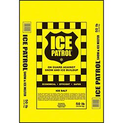 Kissner Ice Patrol Rock Salt - 50 lb. Bag