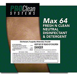ProClean Systems Max 64 Fresh N Clean Disinfectant/Detergent
