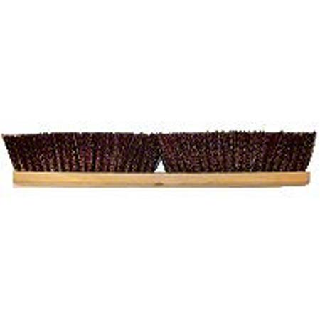 "Better Brush Maroon Polypropylene Garage Brush - 36"", Wood"