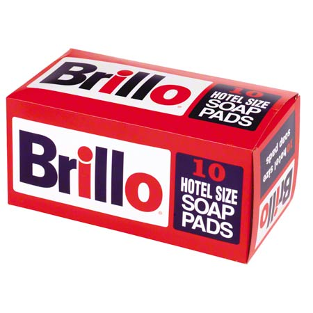 Continental Brillo® Hotel Size Steel Wool Soap Pad