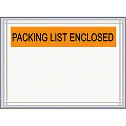 "LPS Pres-Quick® Packing List Enclosed Envelope-4.5"" x 5.5"""