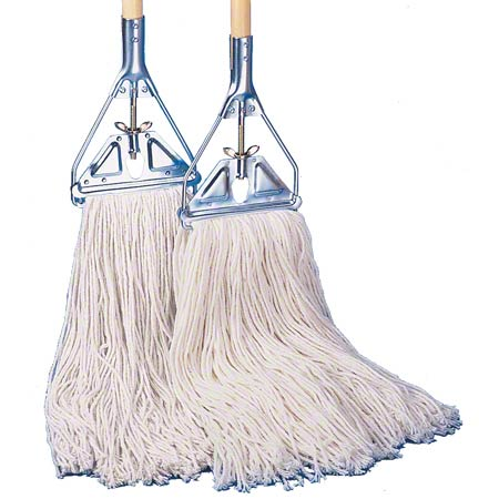 O'Dell Economy 4 Ply Cotton Mop - 24 oz., Narrow Band