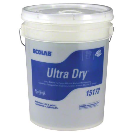 Ecolab® EcoTemp Ultra Dry® Rinse Additive - 4.5 Gal.