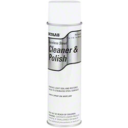 Ecolab® Stainless Steel Cleaner & Polish - 17 oz. Aerosol