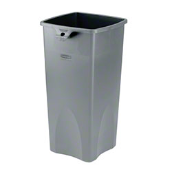 Rubbermaid® Untouchable® Square Container - Gray