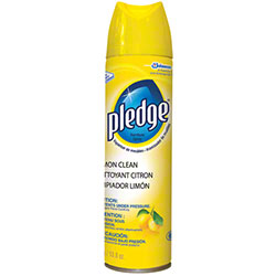 Diversey Pledge® Lemon Clean Furniture Spray - 13.8 oz.