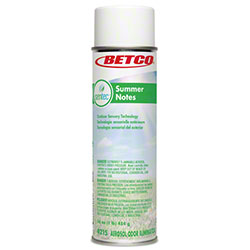 Betco® SenTec Summer Notes Malodor Eliminating Aerosol
