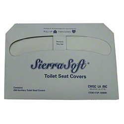 Sierra Soft® 1/2 Fold Toilet Seat Cover