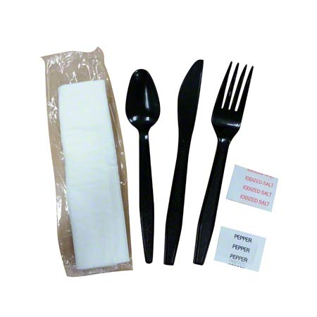 Goldmax Poly King® Meal Kit - Knife/Fork/Spoon/Napkin