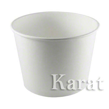 45587834b75 Karat® White Paper Food Container - 32 oz. | P&R Paper Supply Co.