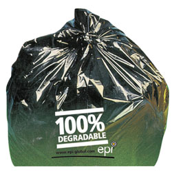 Green Biodegradable Can Liners