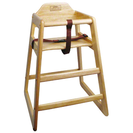 Winco® Stacking High Chair - Natural