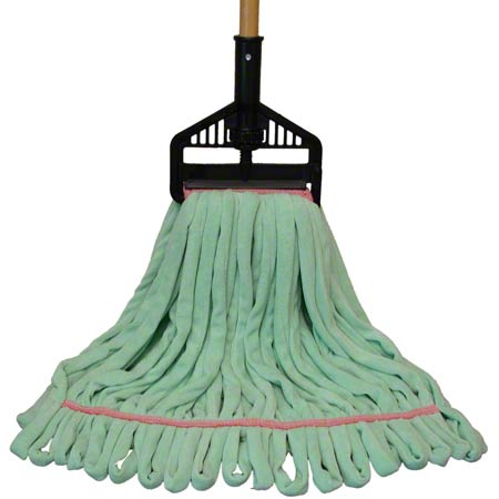 "PRO-LINK® Multi-Surface Wet Mop - Large, 5"", Green"